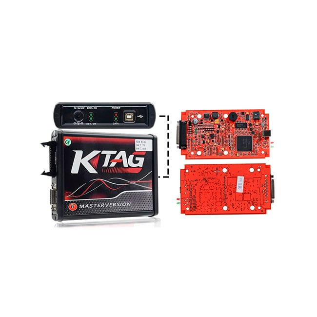 K-TAG ECU Master 7.020 RED (красная плата)