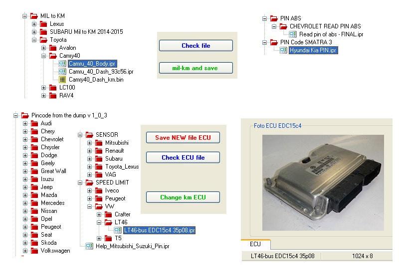 Программатор Iprog+ для работы с Immo, Airbag, Dashboard