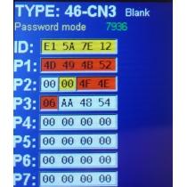 CN-3  транспондер для клонирования ID 46 Philips crypto 2