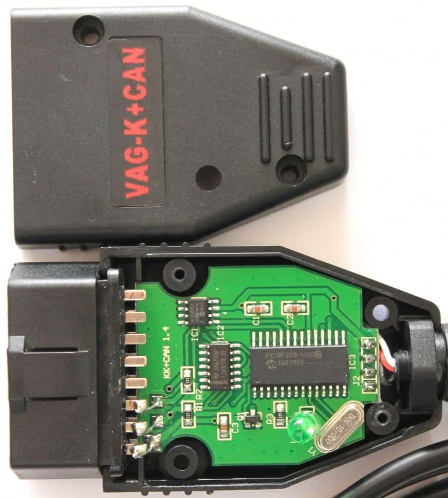 VAG K+CAN Commander  для корректировки одометров VW, AUDI