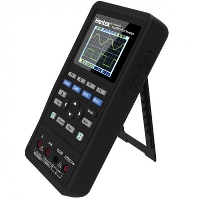 Портативный осциллограф Hantek 2D42 с функциями мультиметра и генератора.