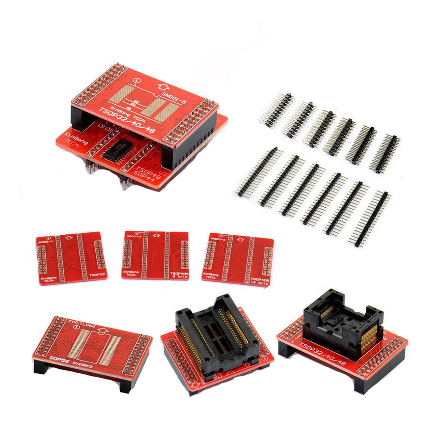 Комплект адаптеров для TL866